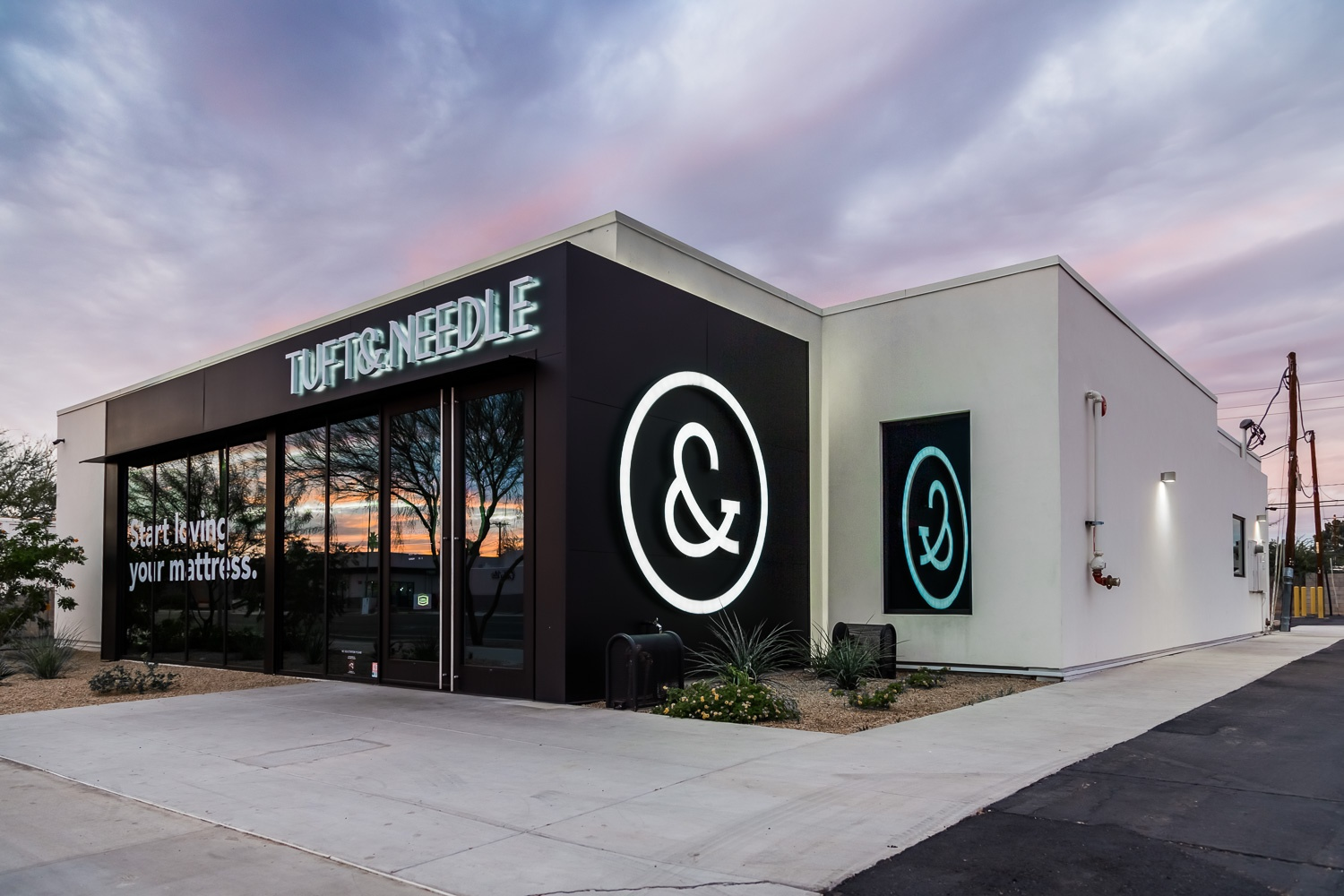 Commercial Redevelopment for Tuft & Needle in Scottsdale, Arizona