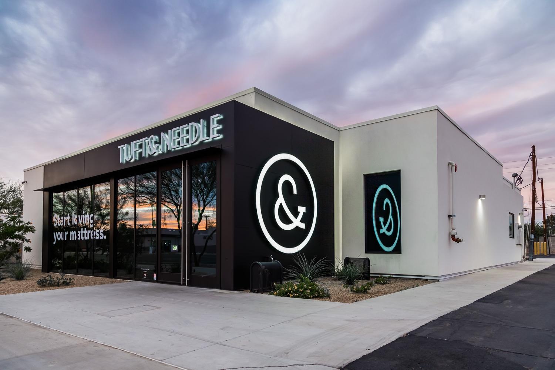 Commercial Redevelopment for Tuft & Needle in Scottsdale, Arizona
