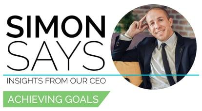 Joshua Simon Simon Says Achieving Goals