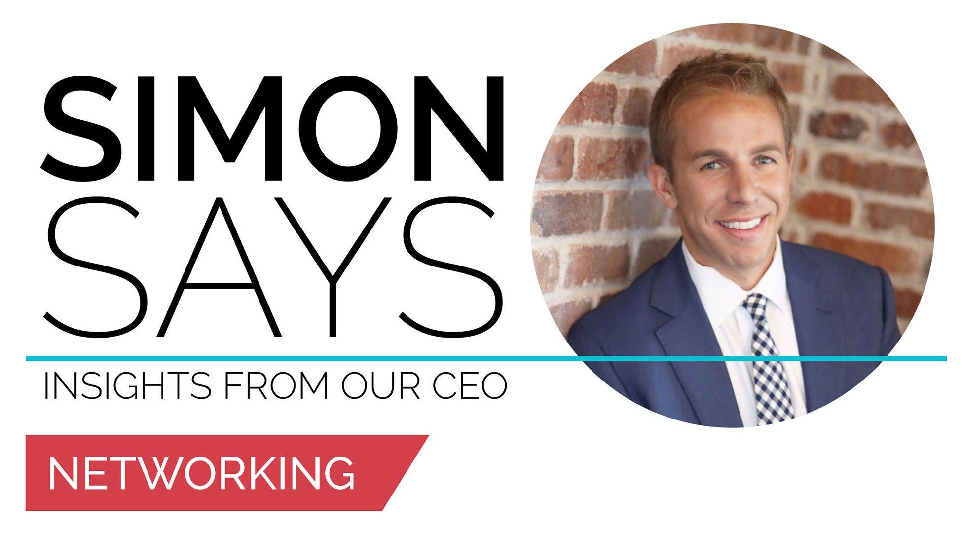 Joshua Simon Simon Says Networking