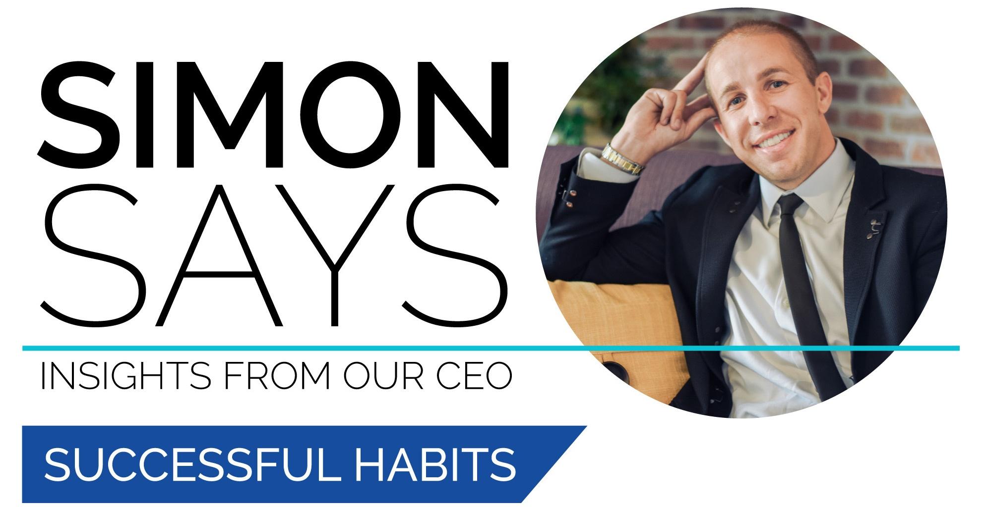 Joshua Simon Simon Says Successful Habits