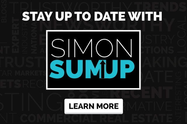 Stay up to date on the latest in commercial real estate with Simon SumUp